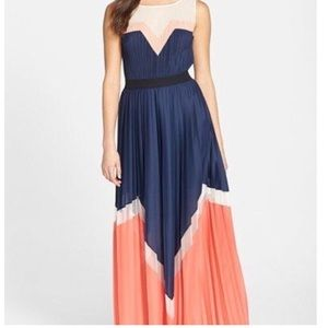 BCBGMAXAZRIA Katherine Color-block Dress
